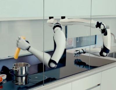 El brazo robótico de cocina Moley es el rey de la cocina